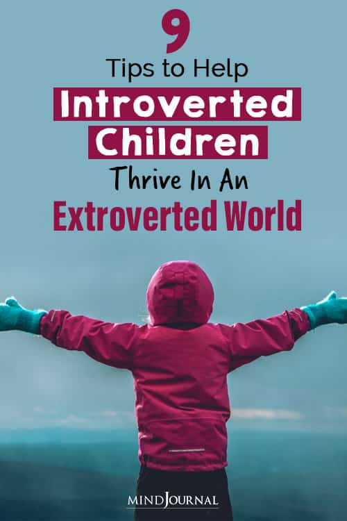 Tips to Help Introverted Children Thrive pin