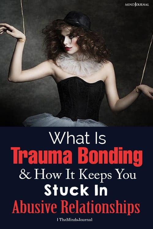 What Is Trauma Bonding pin