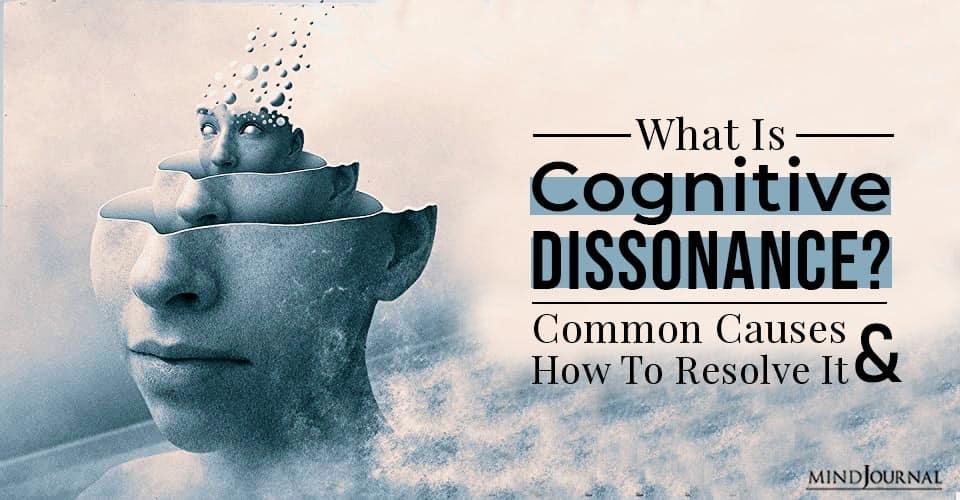 cognitive dissonance common causes