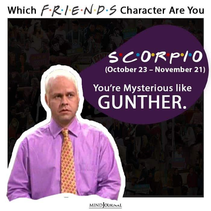 friends scorpio