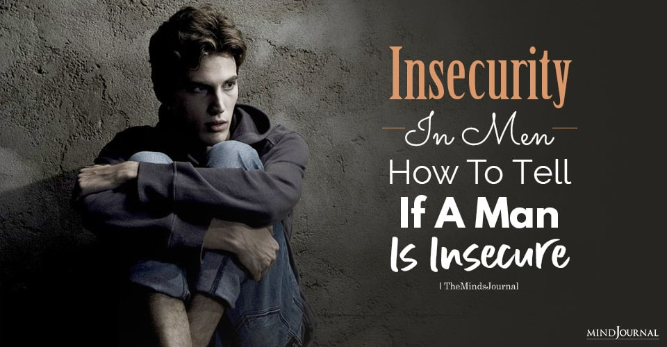 insecurity in men