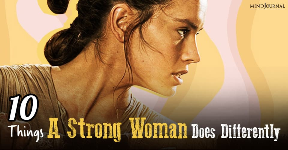strong woman does