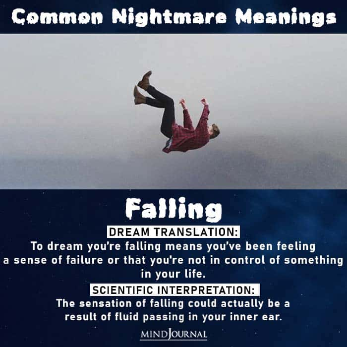 11 Of The Most Common Nightmares And Their Scientific Interpretation