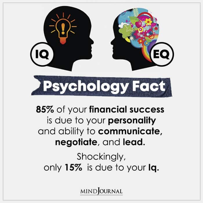 85 Of Your Financial Success Is Due To Your Personality