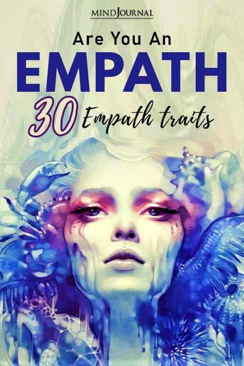 Are You An Empath Empath Traits pin