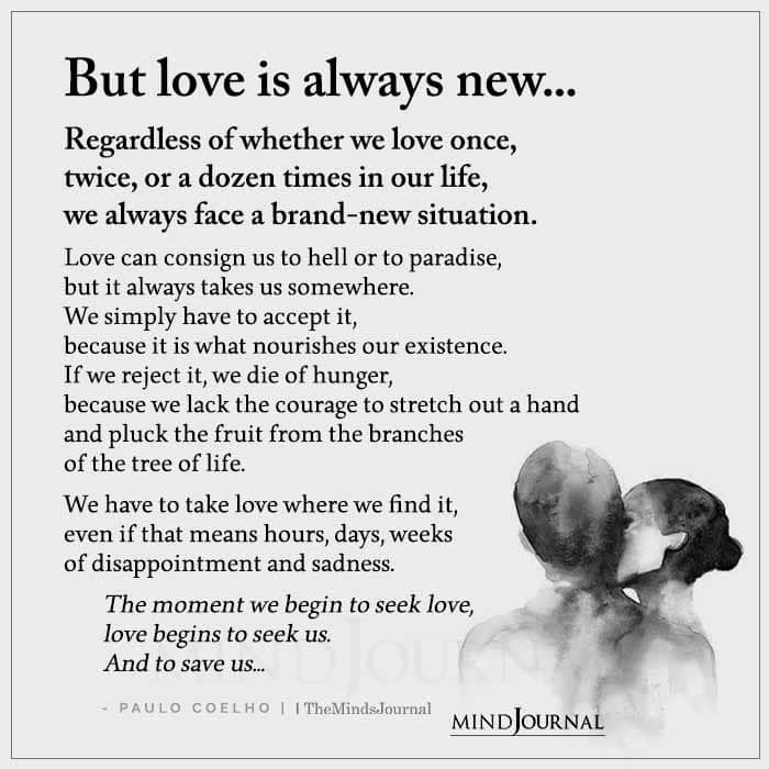 But Love Is Always New