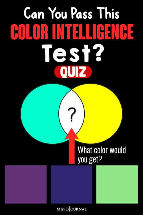 Can You Pass The Color Intelligence Test quiz pin