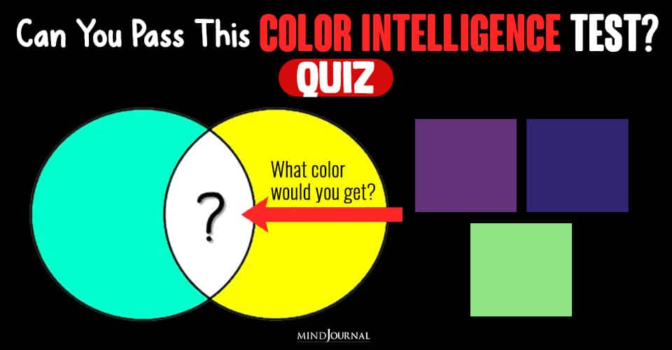 Can You Pass The Color Intelligence Test