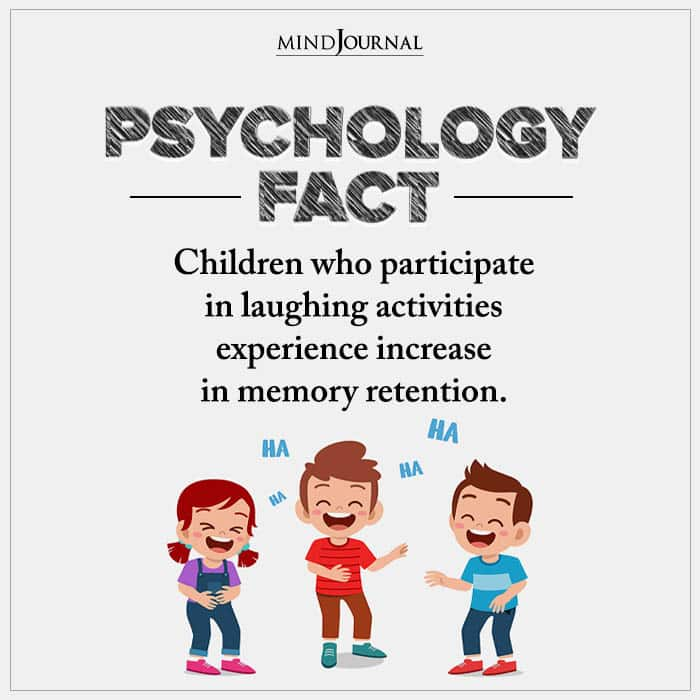 Children Who Participate In Laughing Activities