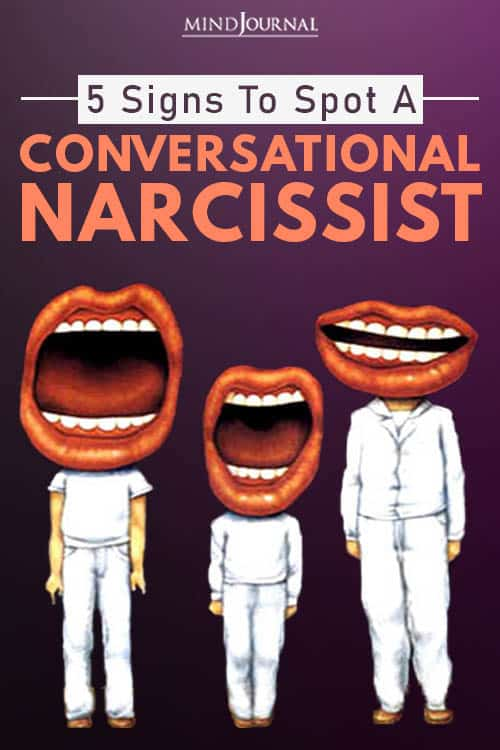 Conversational Narcissism Signs To Spot pin