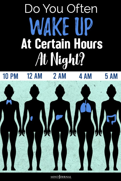 Do You Often Wake Up At Certain Hours At Night pin