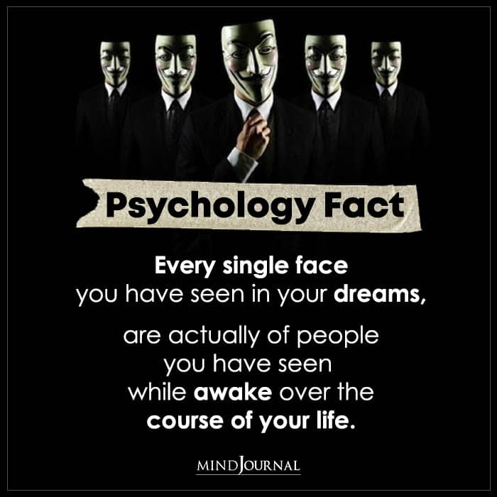 Every Single Face You Have Seen In Your Dreams Is Actually Of People