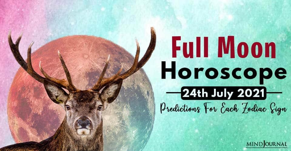 Full Moon Horoscope Predictions Zodiac Sign