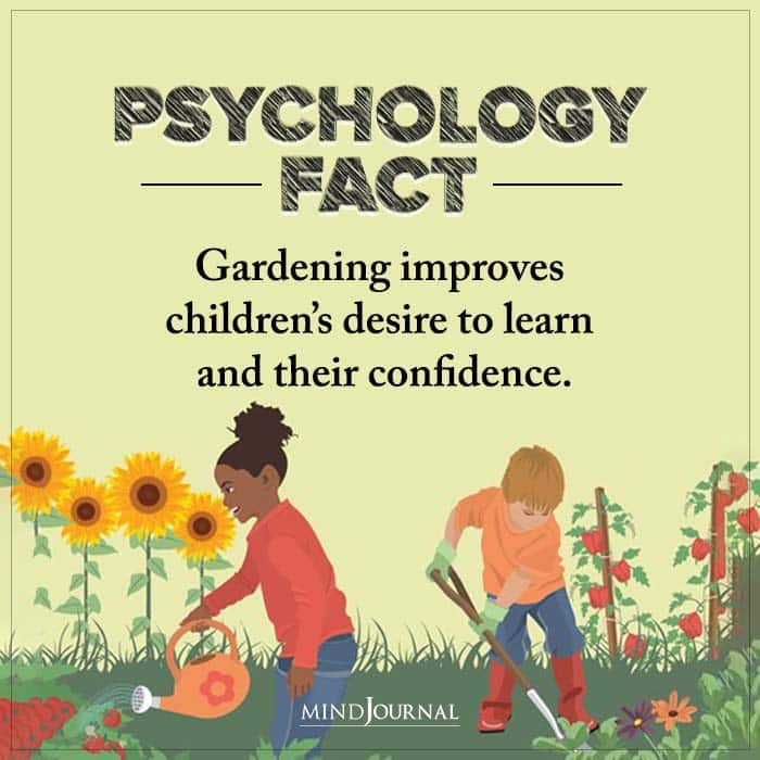 Gardening Improves Childrens Desire To Learn