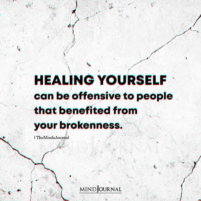 Healing Yourself Can Be Offensive To People