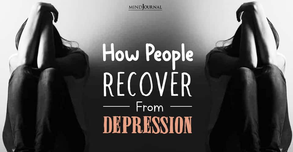 How People Recover From Depression
