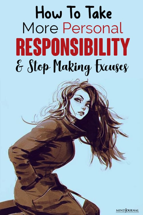 How To Take More Personal Responsibility and Stop Making Excuses pin