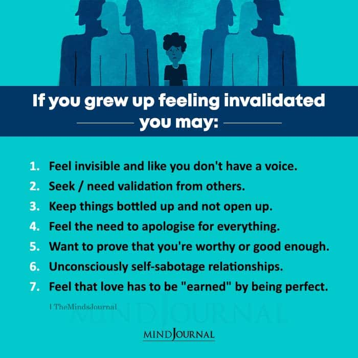 If You Grew Up Feeling Invalidated You May