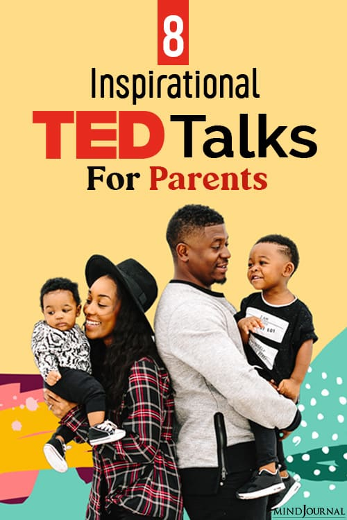 Inspirational TED Talks For Parents pin