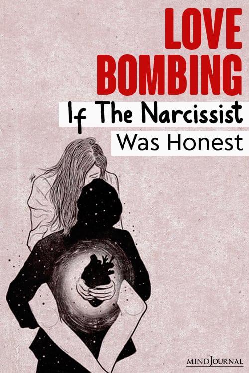 Love Bombing narcissist pin