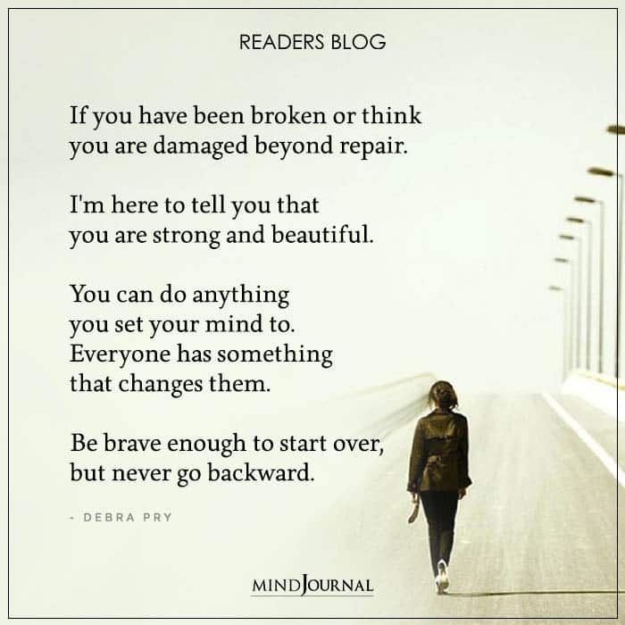Never Go Backward