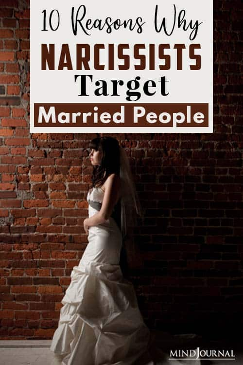 Reasons Why Narcissists Target Married People pin one
