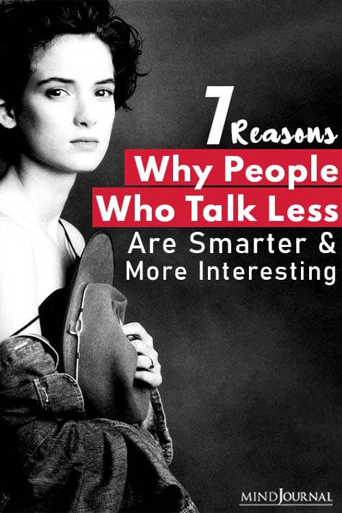 Reasons Why People Who Talk Less Are Smarter pin one