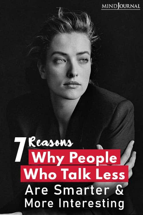 Reasons Why People Who Talk Less Are Smarter pin