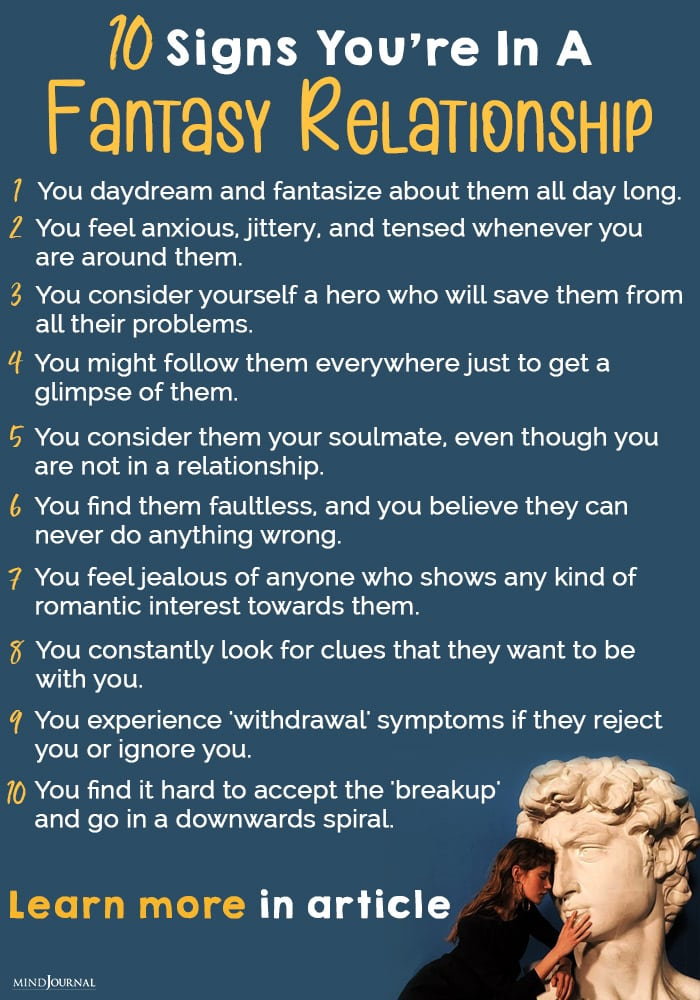 Signs You Are In a Fantasy Relationship info