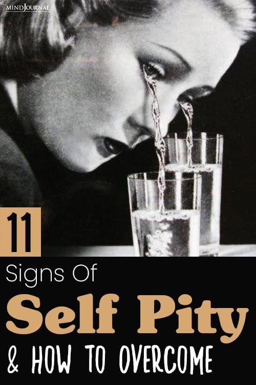 Signs of Self Pity pin