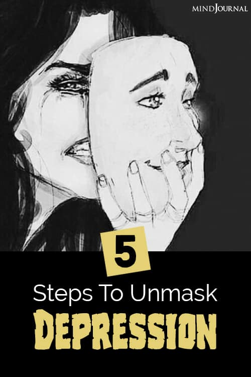 Steps To Unmask Depression pin