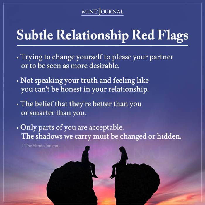 Subtle Relationship Red Flags