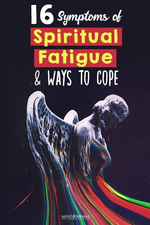 Symptoms of Spiritual Fatigue pin