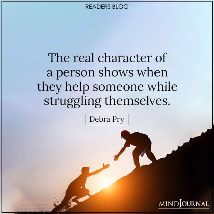 The real character of