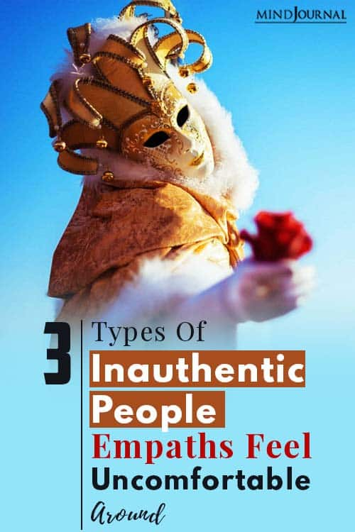Types Of Inauthentic People pin