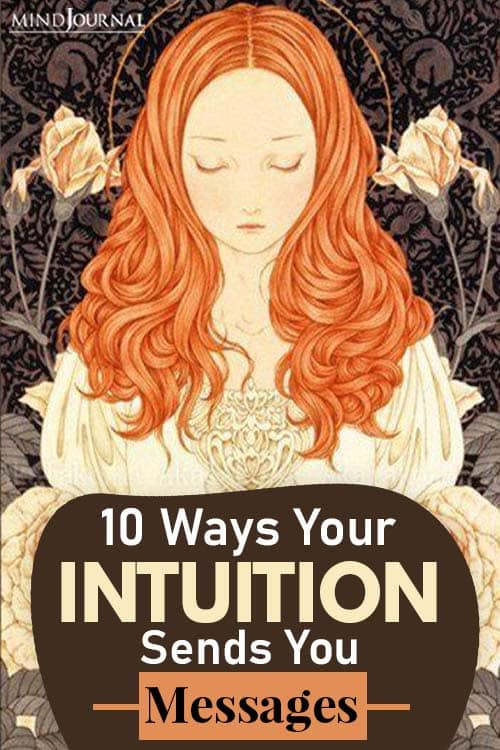 Ways Your Intuition Sends You Messages pin one