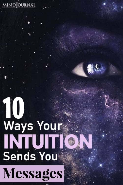 Ways Your Intuition Sends You Messages pin