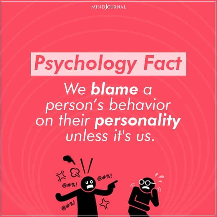 We blame a