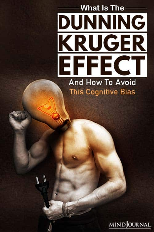 What Is The Dunning-Kruger Effect (And How To Avoid This Cognitive Bias) pin