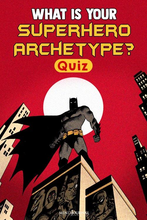 What Is Your Superhero Archetype batman pin