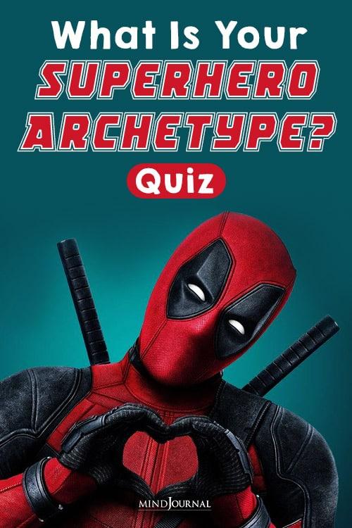 What Is Your Superhero Archetype quiz pin