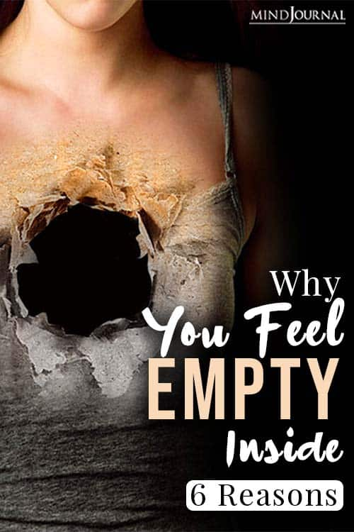 Why You Feel Empty Inside Probable Reasons and How To Cope pin