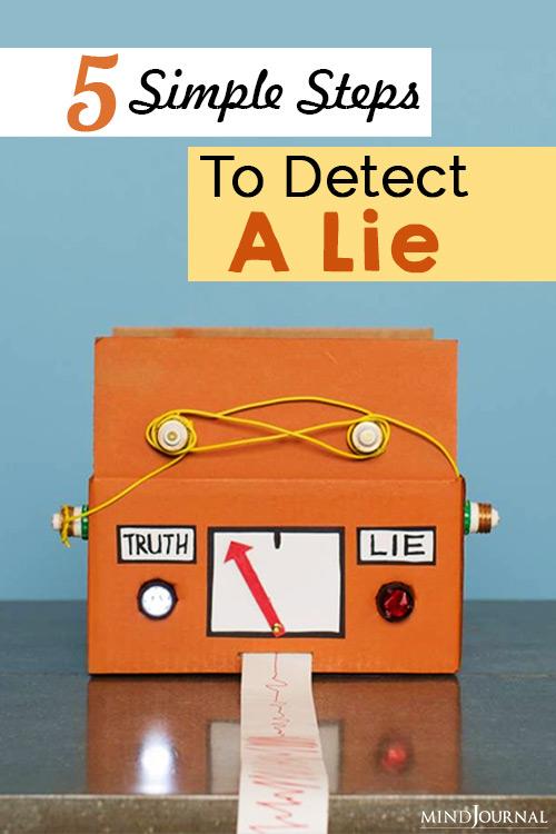 detect a lie pin