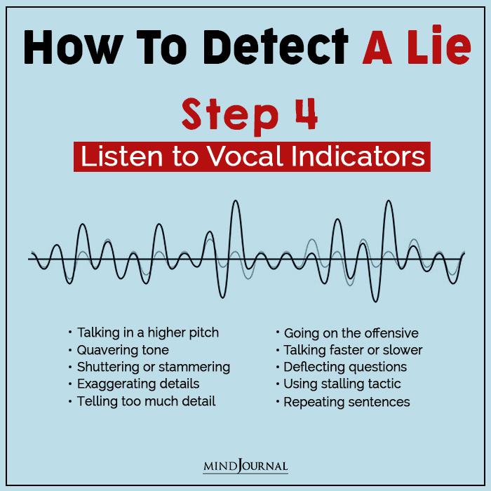 detect a lie vocal