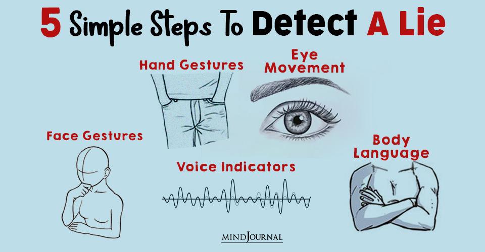 detect a lie