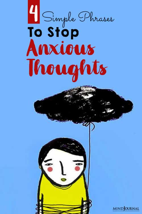 simple phrases to stop anxious