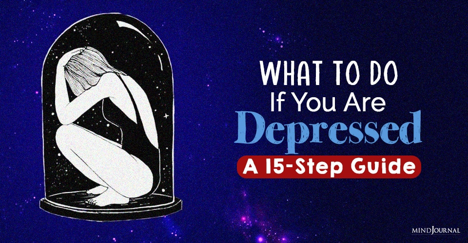 steps if you are depressed