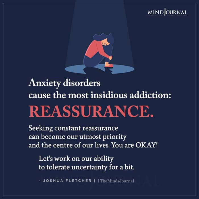Anxiety Disorders Cause the Most Insidious Addiction