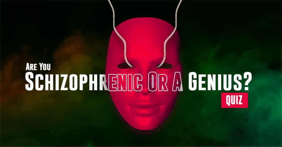 Are You Schizophrenic Or A Genius