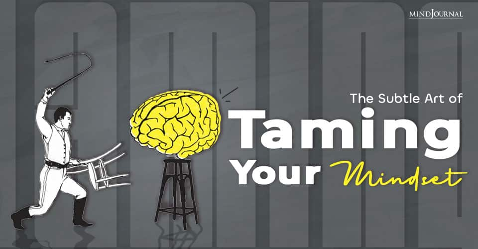 Art of Taming Your Mindset